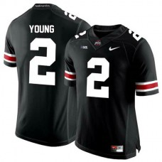 Womens Chase Young Ohio State Buckeyes #2 Authentic Black College Football Jersey