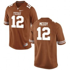 Womens Colt Mccoy Texas Longhorns #12 Authentic Orange Colleage Football Jersey