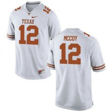 Womens Colt Mccoy Texas Longhorns #12 Game White Colleage Football Jersey