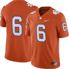 Mens Deandre Hopkins Clemson Tigers #6 Limited Orange Colleage Football Jersey No Name