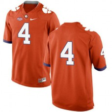 Mens Deshaun Watson Clemson Tigers #4 New Style Limited Orange Colleage Football Jersey No Name