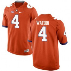 Youth Deshaun Watson Clemson Tigers #4 New Style Limited Orange Colleage Football Jersey