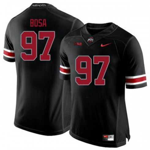 Youth Joey Bosa Ohio State Buckeyes #97 Authentic Black College Football Jersey