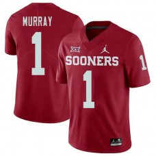 Youth Kyler Murray Oklahoma Sooners #1 Jordan Brand Authentic Red College Football Jersey