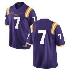 Youth Leonard Fournette Lsu Tigers #7 Limited Purple College Football Jersey No Name