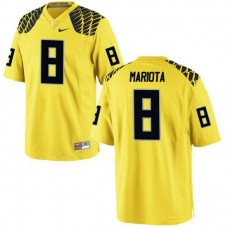 Youth Marcus Mariota Oregon Ducks #8 Limited Yellow College Football Jersey