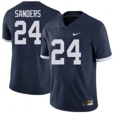 Mens Mike Gesicki Penn State Nittany Lions #24 Authentic Navy Colleage Football Jersey