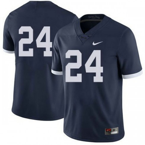Mens Mike Gesicki Penn State Nittany Lions #24 Authentic Navy Colleage Football Jersey No Name