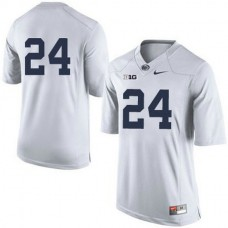 Mens Mike Gesicki Penn State Nittany Lions #24 Authentic White Colleage Football Jersey No Name