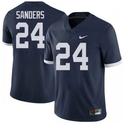 Mens Mike Gesicki Penn State Nittany Lions #24 Limited Navy Colleage Football Jersey