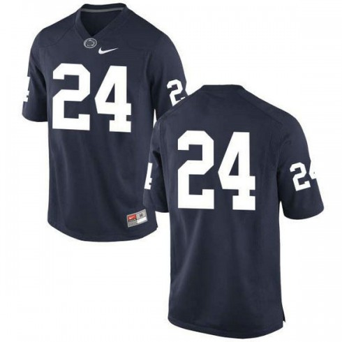 Mens Mike Gesicki Penn State Nittany Lions #24 New Style Authentic Navy Colleage Football Jersey No Name
