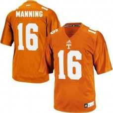 Youth Peyton Manning Tennessee Volunteers #16 Adidas Authentic Orange Colleage Football Jersey