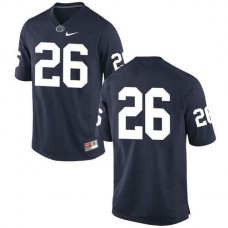 Mens Saquon Barkley Penn State Nittany Lions #26 New Style Game Navy Colleage Football Jersey No Name